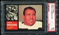 1962 Topps Football #83 FRANK VARRICHIONE Los Angeles Rams PSA 7 NM