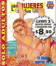 LAS MUJERES Y SUS COSAS mexican comic SEXY GIRLS, SPICY #117