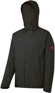 Mammut Men's Lugano Waterproof Jacket - Graphite, Large, Excellent Condition