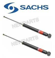 NEW BMW E30 318i 325i Convertible Pair Set Of 2 Rear Shock Absorbers OEM Sachs