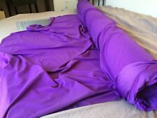 Purple Recycled Poly/Spandex swimwear activewear fabric (By the Yard)