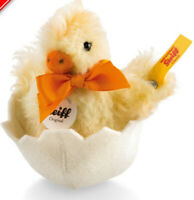 CLICKI CHICK Steiff Alpacca Easter Chick in egg 3.5 inches Adorable  - NEW