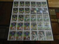 CHICAGO WHITE SOX DYLAN CEASE RC LOT X30 CARDS TOPPS BOWMAN CHROME LOOK!