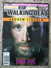 The Walking Dead Official Magazine #11 Dark Side of Rick Grimes Andrew Lincoln