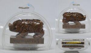 Amulet Magic Pig Millionaire Thai Chram Rich Money Fortune Business Trade LP Wan