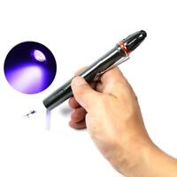 LED Strong UV Torch for curing the resin Fly Fishing UV Torch Light_LampDE