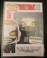 """""""The Fiend"""" Bray Wyatt #77 *Amazon Exclusive* Funko Pop Sports (WWE) w/Pop Stack"""