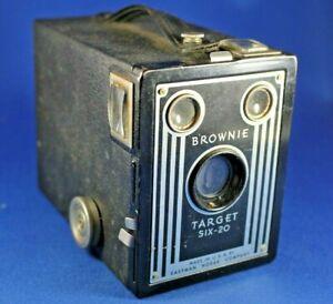 Kodak Vintage Brownie Target Six-20 Camera - As Is