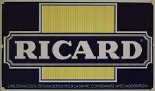Affiche RICARD - 117 x 67 cm modèle bleu