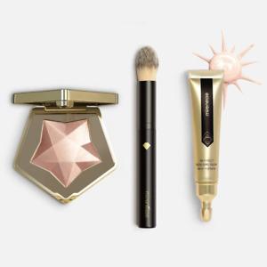 Best Rose Gold Glass Glow Highlighter 3pce Kit