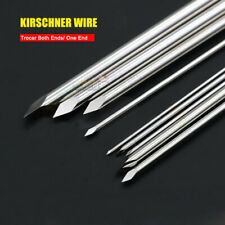 10pcs Orthopedic Kirschner Wire Veterinary Surgery K-Wire Pins Trocar both Ends