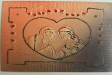 Antique Embossed Valentine Postcard