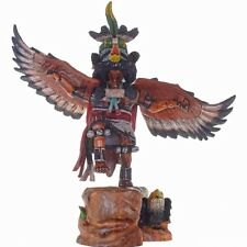 Hopi Indian Kachina Doll Eagle Dancer By Milton Howard