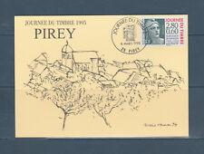 carte 1er jour  journée du timbre Marianne de Gandon 25 Pirey  1995