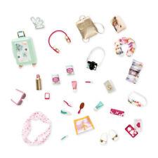 LORI Zubehör Reise-Set Zubehör für Puppe 15cm Accessoires Koffer, Kamera, Brille