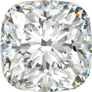 2.02 CT. Natural Cushion Shape Diamond. Certified By GIA.