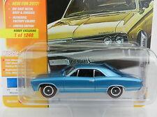 2017 Johnny Lightning *CLASSIC GOLD HOBBY* MARINA BLUE 1967 Chevy Chevelle NIP!
