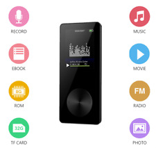 MP3 Musik Player 8GB Wiedergabe 1,8 Zoll LCD Display Mit FM Radio e-Book schwarz