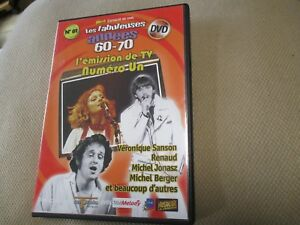 """DVD """"NUMERO UN"""" Veronique SANSON, Renaud, Eddy MITCHELL, Maxime LE FORESTIER"""