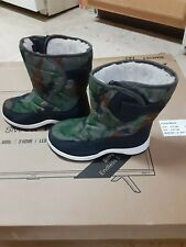 Camouflage Snow Boots Boy's Size1