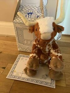Build A Bear - Exclusive Highland Cow / Longhorn Cow