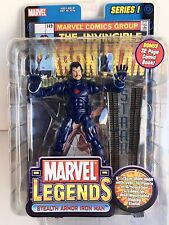 Marvel Legends Stealth Armor Iron Man Series One Mint!