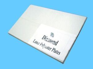 Diamond Laser Polyester Plate 12″ x 19 3/8″ (100 per box) Printing Supplies