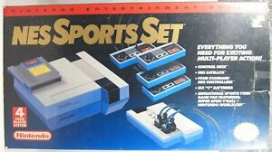 Nintendo Entertainment System NES Sports Set Authentic Console BOX ONLY