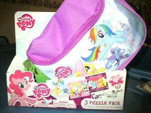 My Little Pony Carry & Go 3 Puzzle Pack 48 Pieces NEW