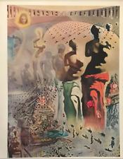 Salvador Dali 1971 Surrealist Hallucinogenic Toreador Venus de Milo Litho #S15