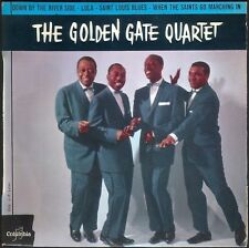 THE GOLDEN GATE QUARTET DOWN BY THE RIVER SIDE 45T EP COLUMBIA 1303 + LANGUETTE