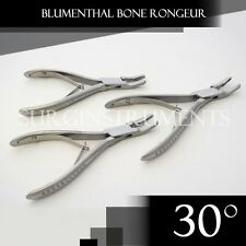 3 Pieces Of Blumenthal Bone Rongeur 30 Degree 4.5