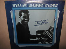WILLIE MABON Sings RARE SEALED New Vinyl LP AN-7013 Mighty Joe Young Blues On RE