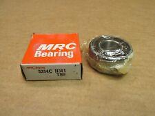NIB MRC 5204SBKFG BEARING w// SNAP RING METAL SEALED 1 SIDE 5204 SBKFG 20x47x20.5