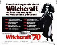 Witchcraft 70 Poster 02 Metal Sign A4 12x8 Aluminium