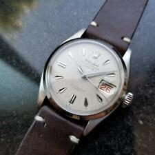 Rolex Vintage Oyster Perpetual 1955 Automatic 6534 Roulette Mens Bubbleback MA74