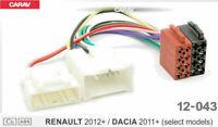 ISO Radiokabel Adapter passend Renault Opel Movano Vivaro Mercedes Citan