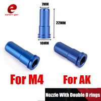 Element Aluminum 2 O-ring Air Sealing Nozzle for Airsoft AEG GearBox Accessories