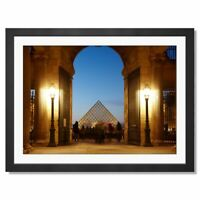 A3  - Awesome Louvre Palace Paris France Framed Prints 42X29.7cm #8977