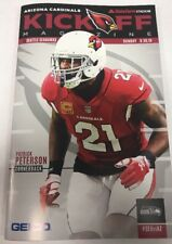Arizona Cardinals vs Seattle Seahawks Offical Kickoff Program 9/30/18 NFL
