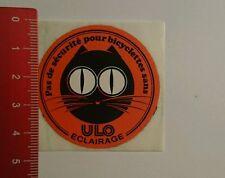 Aufkleber/Sticker: Ulo Eclairage pas de sécurité pour bicyclettes (16071699)