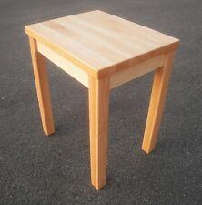 Holztisch, Beistelltisch Erle massiv . 50x40x60cm hoch . Maßanfertigung !