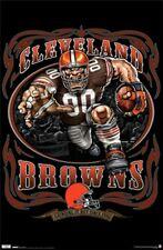 Cleveland Browns NFL Football Team Running Back Poster Print