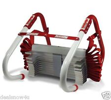 Two Story Fire Escape Ladder Home Window Safety Kids Adult Emergency Smoke 13 Ft