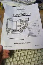 whirlpool 2181913 modular ice maker kit installation guide