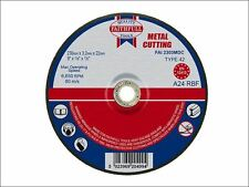 Faithfull - Cut Off Disc for Metal Depressed Centre 230 x 3.2 x 22mm