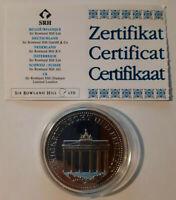 Medaille: Farbgedenkprägung Deutschland - 'Deutsche Einheit' - **JOSTES**