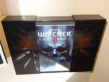 The Witcher 3: Hardcover Art Book 200-Page Artbook w/ Witcher Box - Never Read