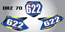 Custom Graphics for Suzuki DRZ 70