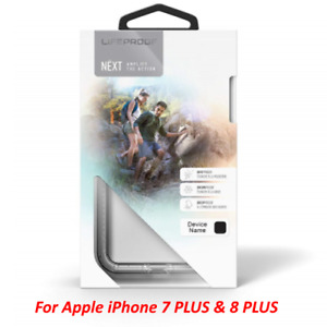 LifeProof Next Snowproof iPhone 8 Plus iPhone 7 Plus Case Black Crystal / Clear
